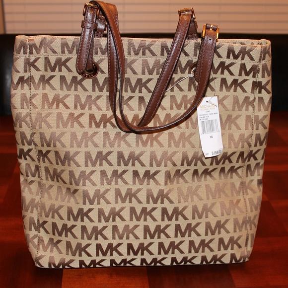 9647a14ab5c8 MICHAEL Michael Kors Bags   Michael Kors North South Jacquard ...